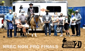 Indy Roper Wins NRBC Non Pro Level 4 Championship on Spooks Show Time