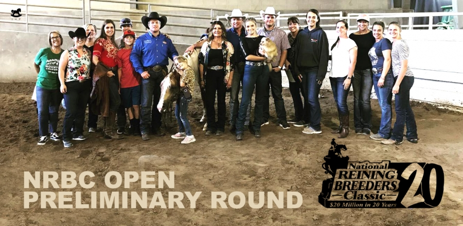 Casey Deary and Gunnabeabrightstar Win NRBC Open Preliminary Round