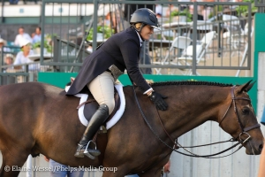 Colvin and El Primero won the 2019 Platinum Performance/USHJA International Hunter Derby Championship