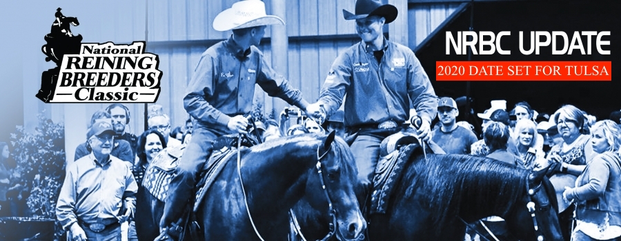 National Reining Breeders Classic to be Held in Tulsa on August 26 - September 6