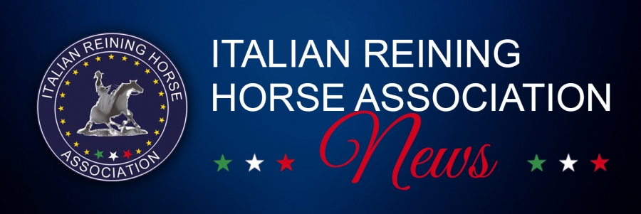 The Italian Reining Horse Association Futurity changes date: November 22-30, 2019