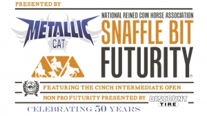 The highly anticipated National Reined Cow Horse Association Snaffle Bit Futurity ®, presented by Metallic Cat, got underway Thursday, October 4, 2019 with Open Futurity reined work