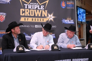 World Champions Rodeo Alliance welcomes Days of '47 Cowboy Games and Rodeo to the One Million Dollar Triple Crown of Rodeo Bonus