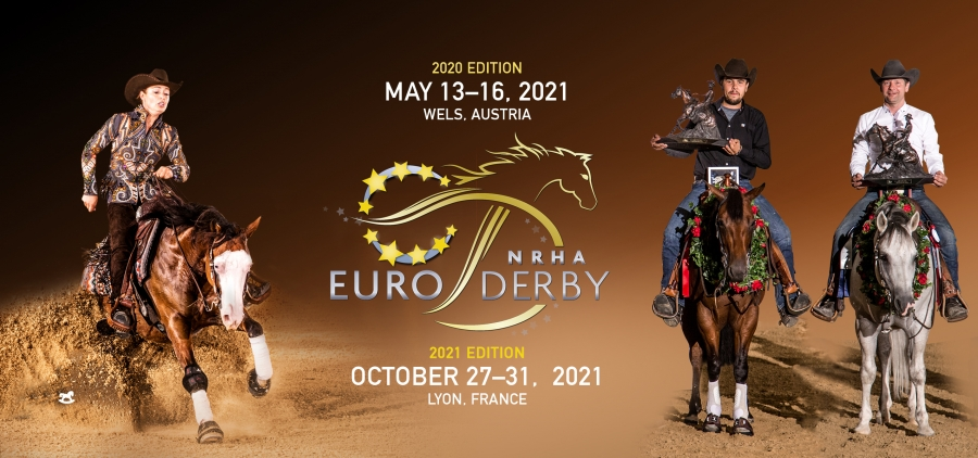 Dates Announced for 2020 and 2021 National Reining Horse Association European Derbies