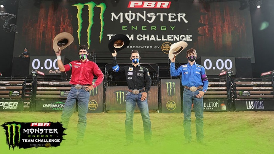 New PBR Team Tournament Launches With a Blowout, Shutout and Dramatic Seesaw Battle at South Point Arena in Las Vegas