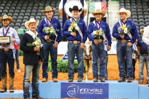 Team USA scores fifth consecutive gold - FEI World equestrian games