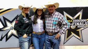 Living Legend Cowboy Girl Dads Elated About Equal Money at Inaugural Women's Rodeo World Championship