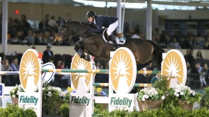McLain Ward and Noche de Ronda.