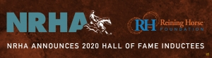 NRHA Announces 2020 Hall of Fame Inductees