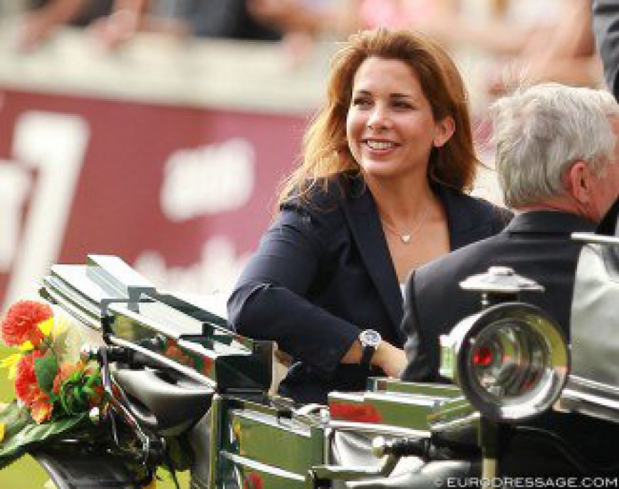 International Horse Press - Former FEI President HRH Princess Haya