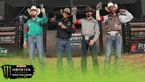 Playoff Picture Painted as Division B Wraps up Action at PBR's Monster Energy Team Challenge