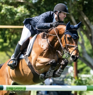 McLain Ward (USA) and Catoki were best in the CSI5* $36,600 Suncast Welcome Stake at Deeridge Farms