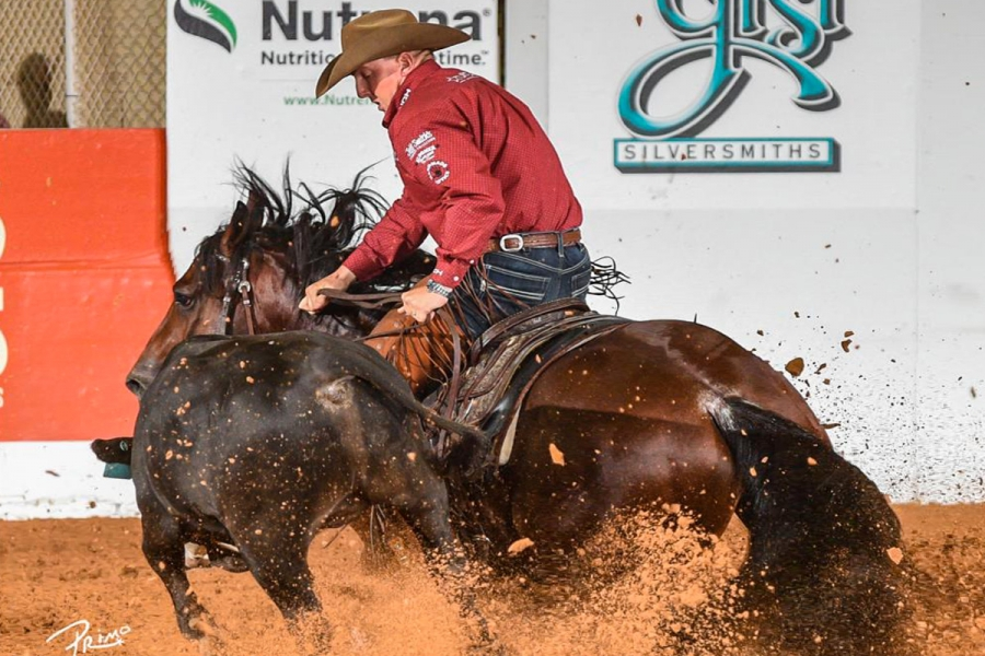 Cushing Rides To Third NRCHA Snaffle Bit Futurity Open Title with SJR Diamond Mist