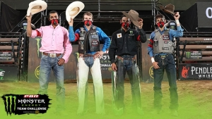 Team Pendleton Whisky clinches playoff berth, two teams tie on PBR Monster Energy Team Challenge Day 11