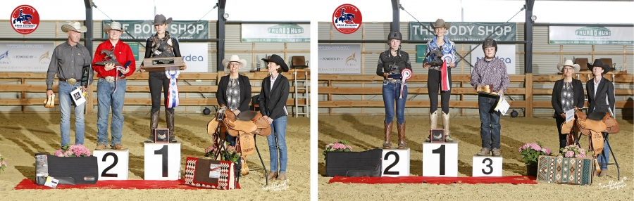 NRHA EAC Intermediate Open Podium - NRHA EAC Youth 13&Under Podium