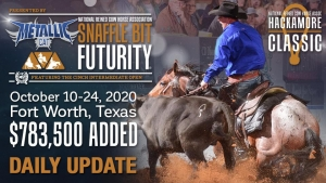 National Reined Cow Horse Association Snaffle Bit Futurity ®, Presented by Metallic Cat, Daily Update