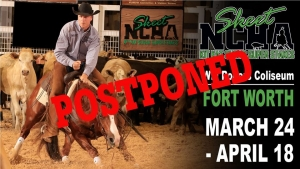 NCHA Kit Kat Sugar Super Stakes is Postponed