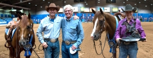 National Reining Breeders Classic (NRBC): Fappani and Lengel Tie for Win of Hollywoodstinseltown Open Futurity