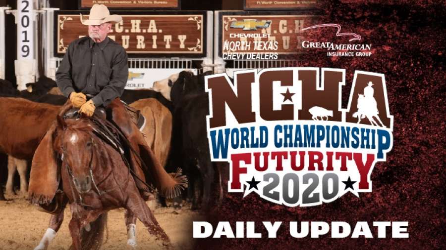 2020 NCHA Futurity Daily Update