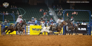 Team ropers Egusquiza & Graves